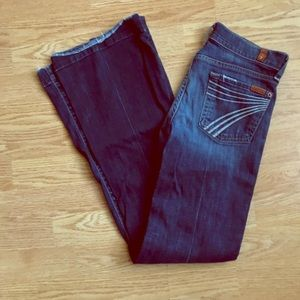7 for All Mankind Dojo Jeans sz 25